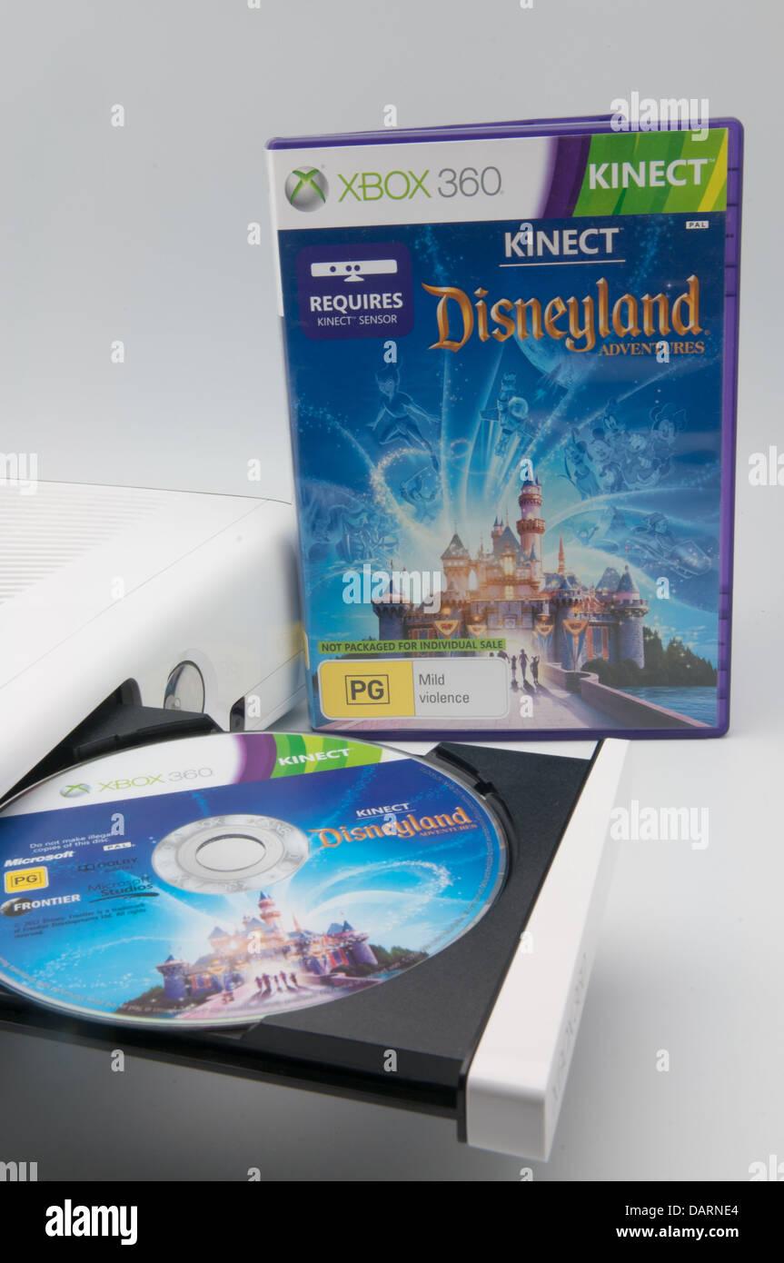 Disneyland Adventures Video Game Released For The Xbox 360 Stock Photo Alamy
