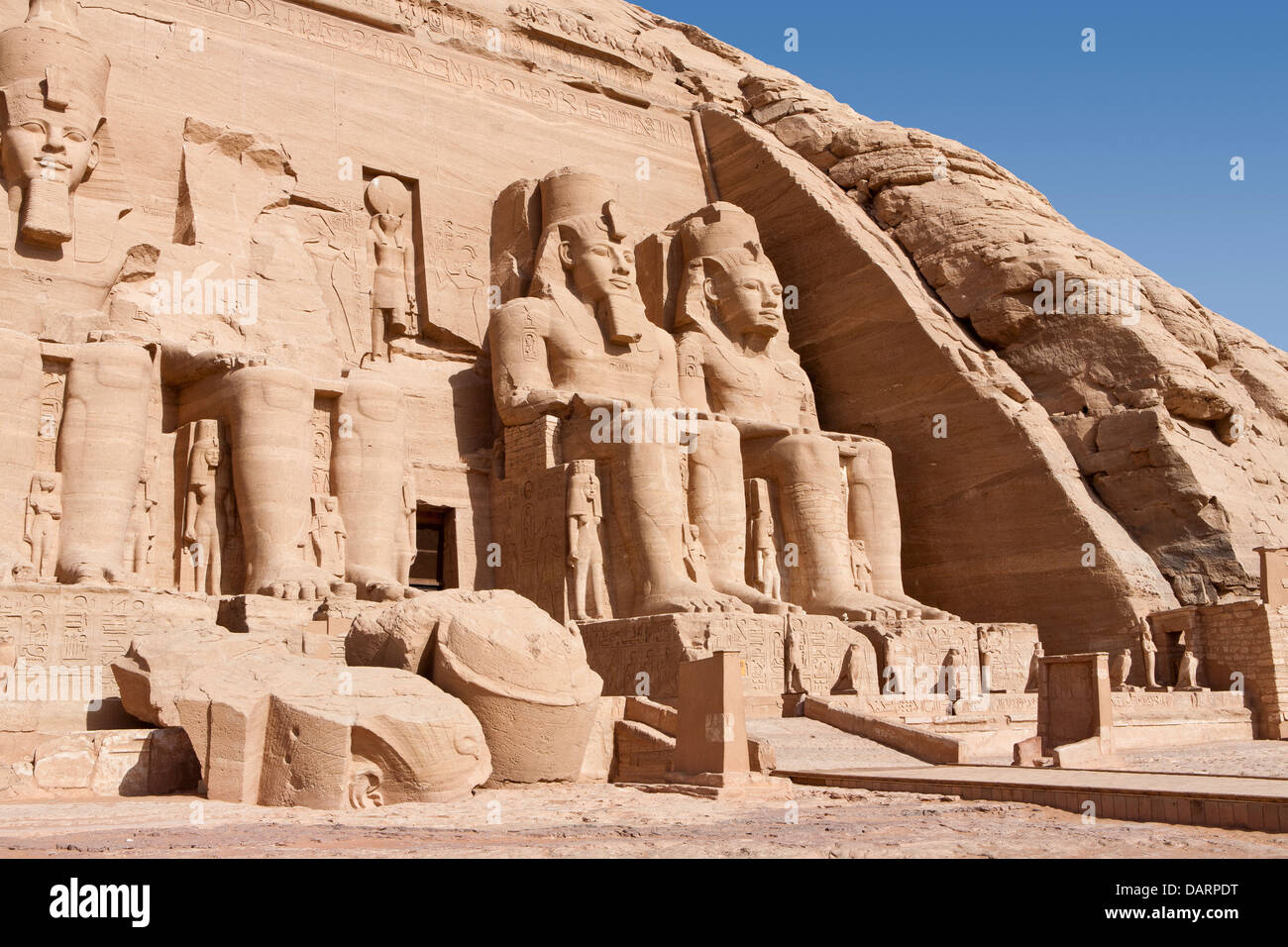 The vast sun temple of abu simbel built by ramesses ii the unesco the vast sun temple of abu simbel built by ramesses ii the unesco world heritage site lake nasser south of aswan upper egypt gumiabroncs Gallery