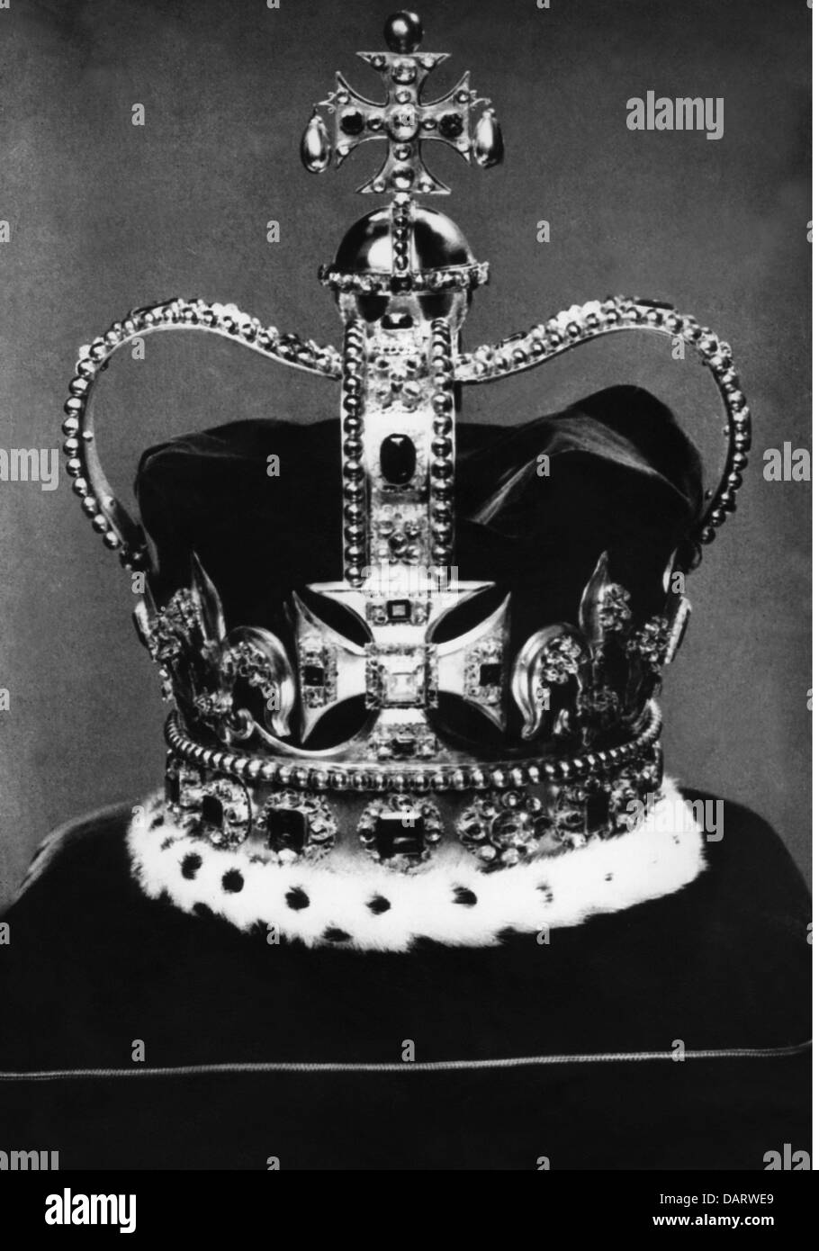 crowns / crown jewels, Great Britain, St Edward's Crown, manufactured for Charles II (1630 - 1685), 1661, Additional - Stock Image