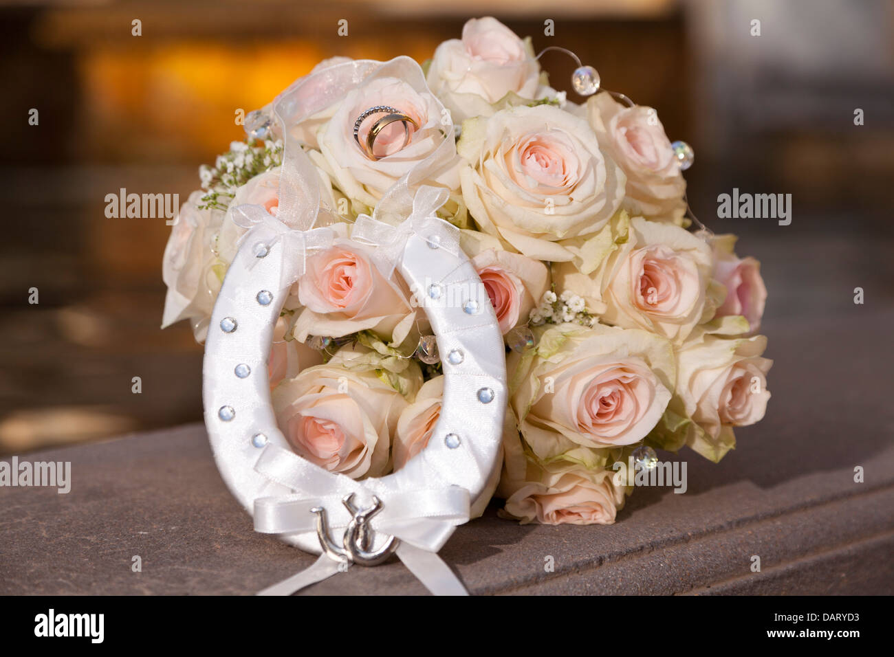 wedding stock royalty in with image bridal free photo sepia rings bouquet
