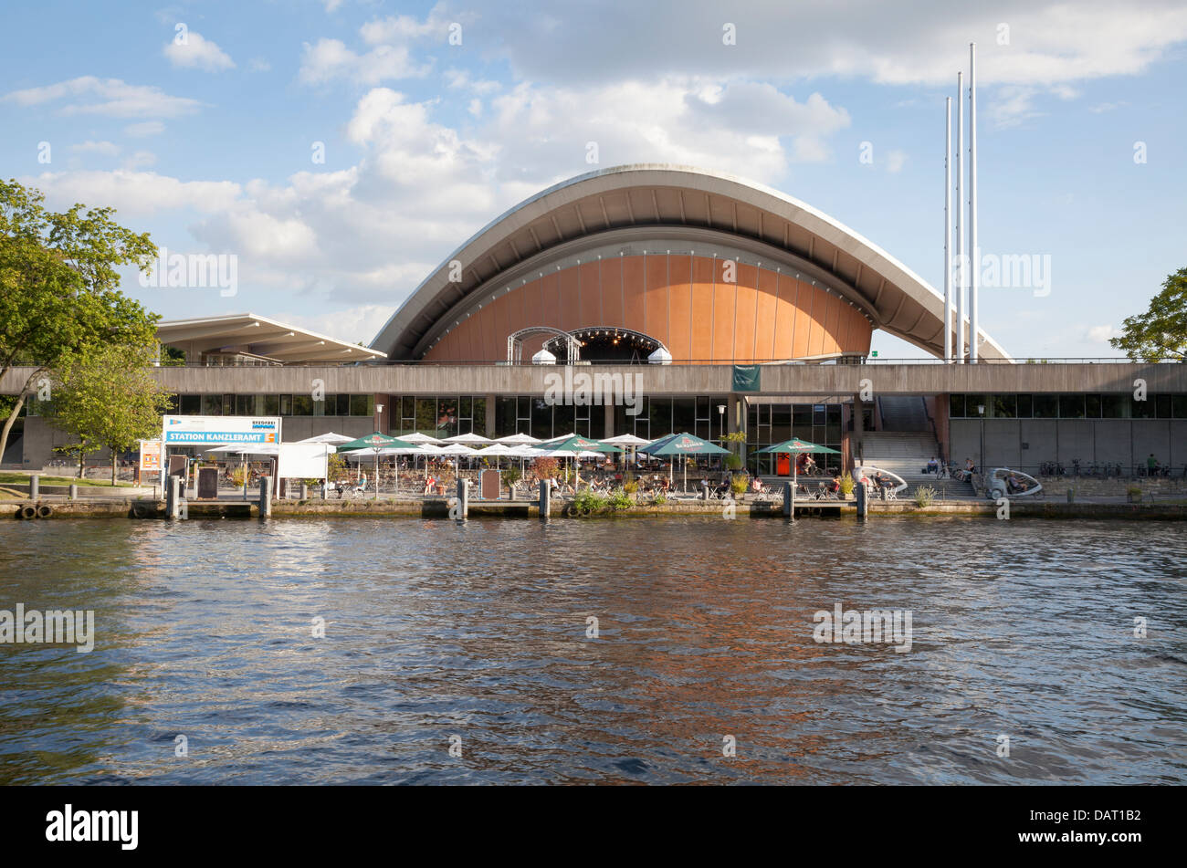 House of World Culture, Berlin, Germany - Stock Image