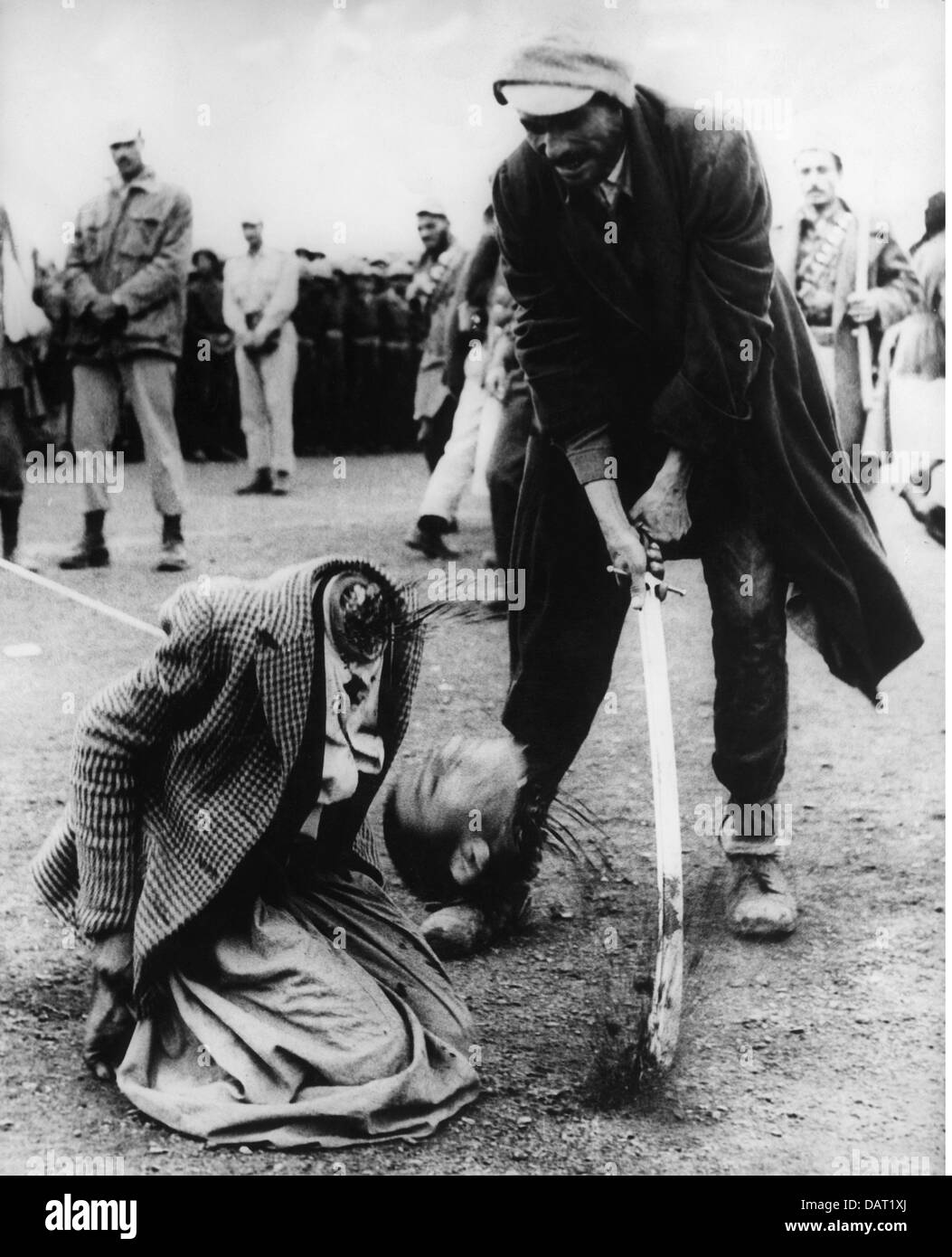 justice, penitentiary system, beheading, execution by the sword, Yemen, 1963, Additional-Rights-Clearences-NA - Stock Image