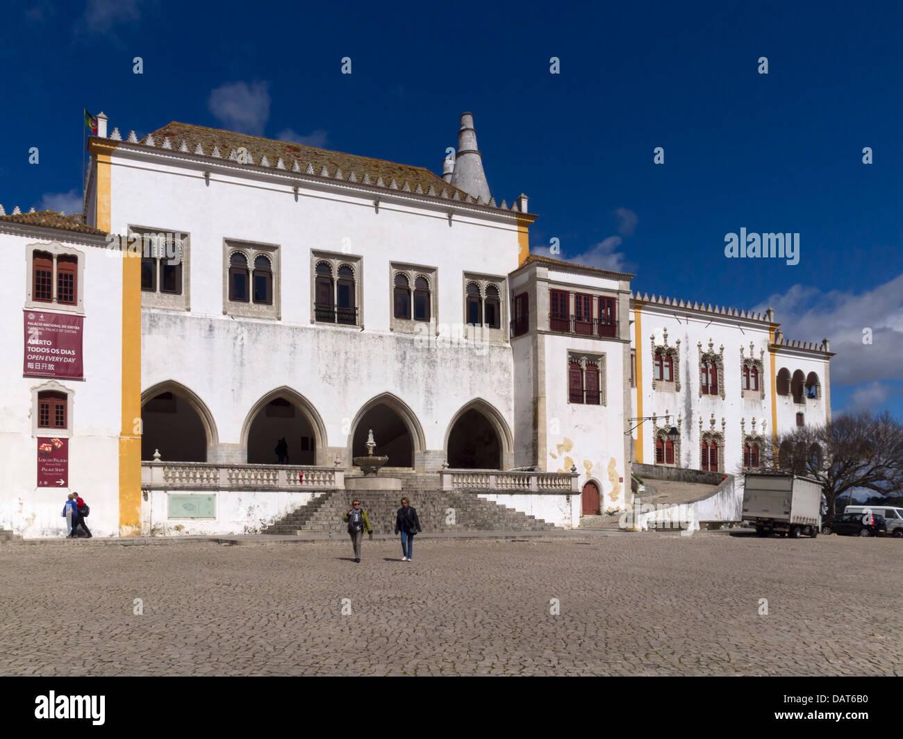 Palácio Nacional (National Palace) in Sintra, Portugal, Europe Stock Photo