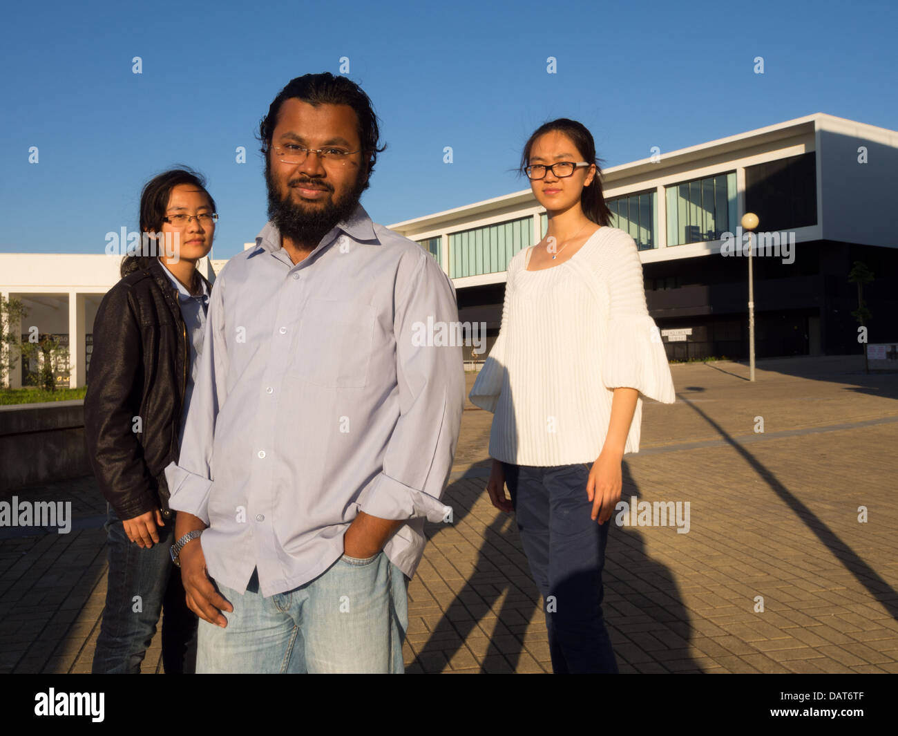 Group of multi ethnic people - Stock Image