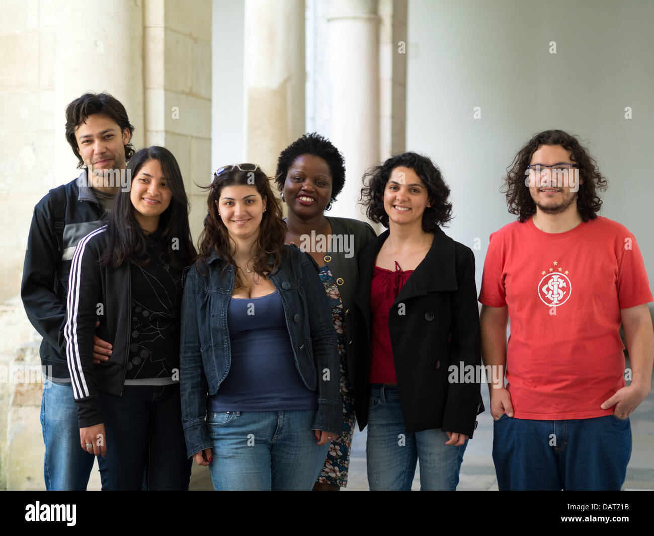 Group of multi ethnic people - Stock Image