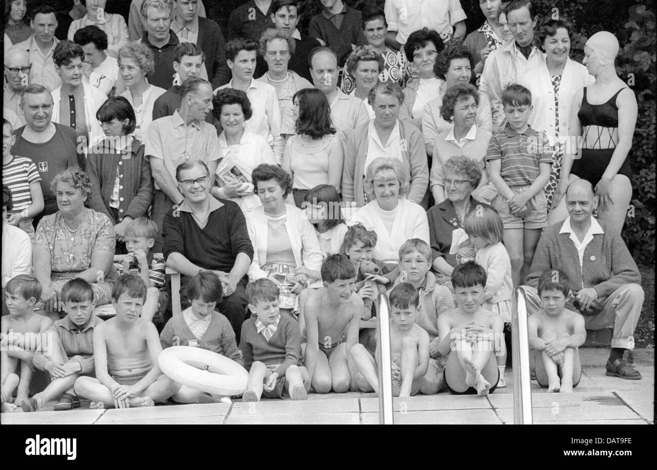 Group Photo, Butlins 1962 - Stock Image