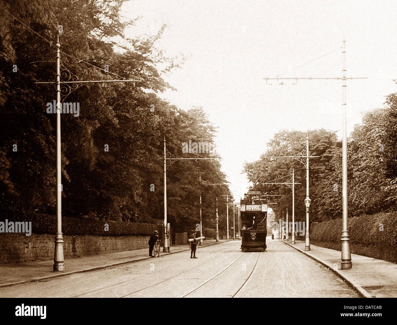 Erdington Sutton Road Birmingham early 1900s - Stock Image