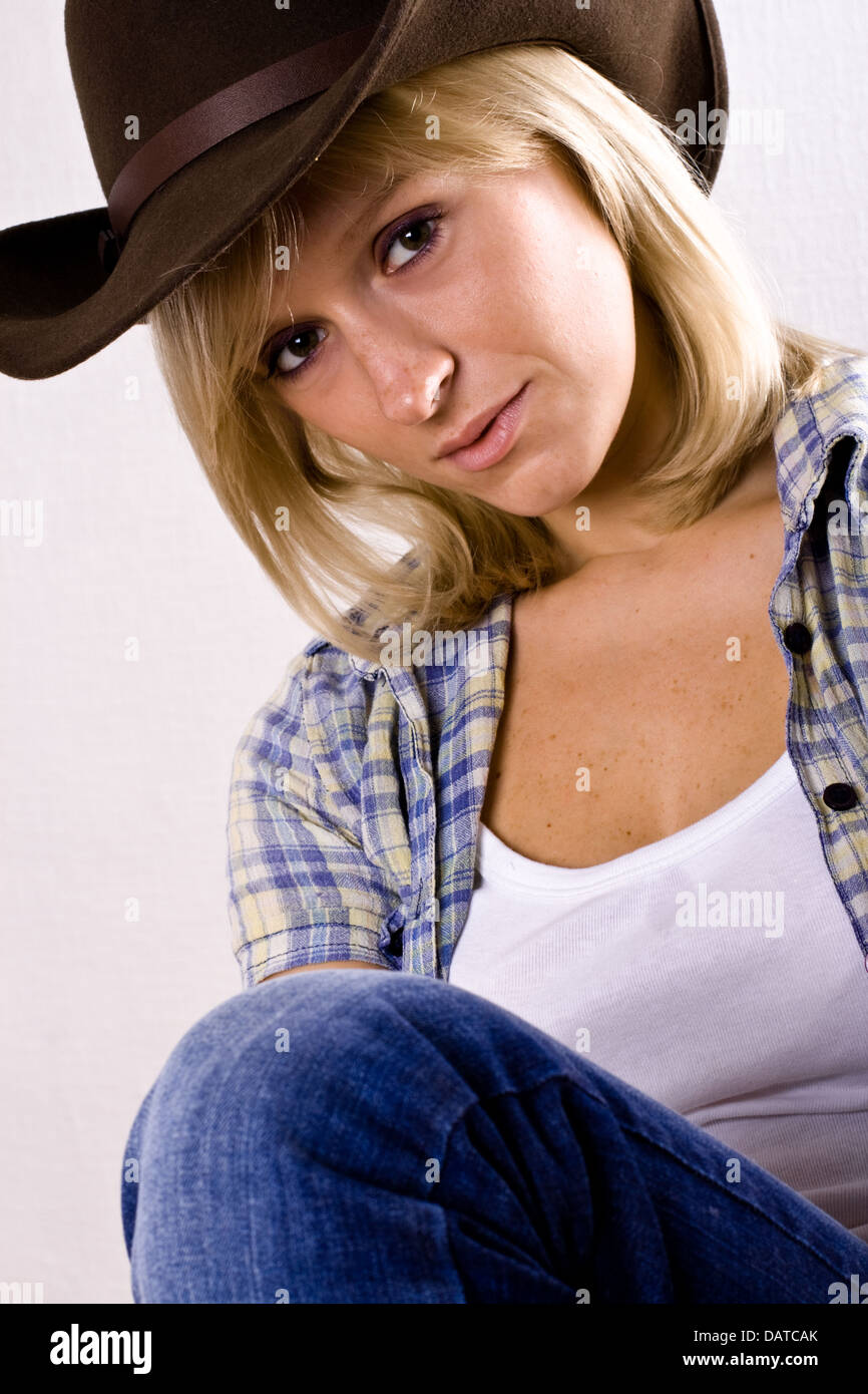 Mature cow girl