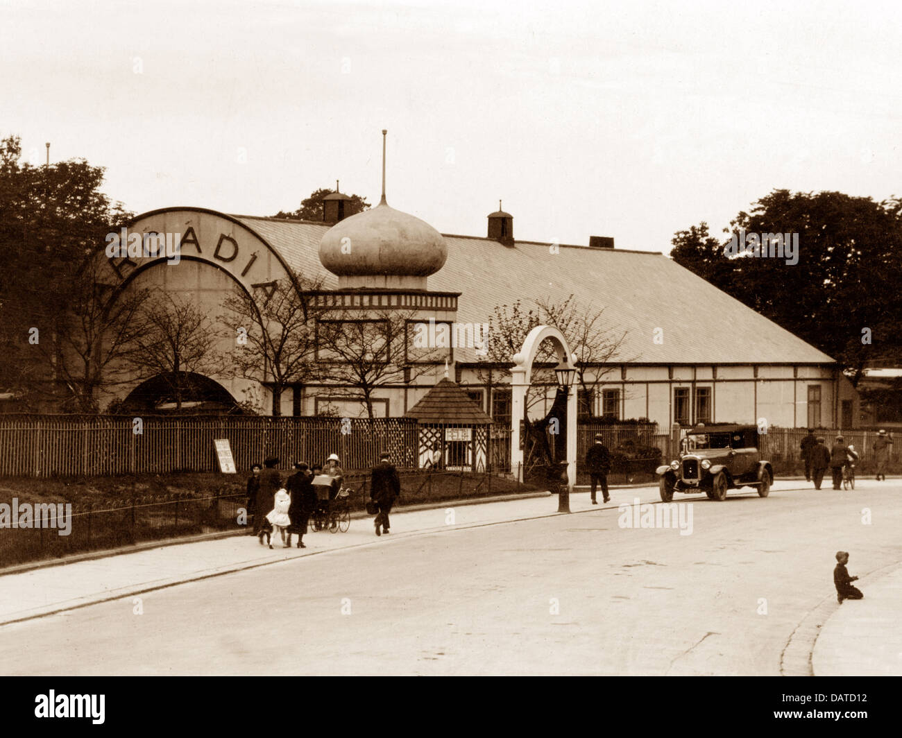 Doncaster Arcadia probably 1930s - Stock Image