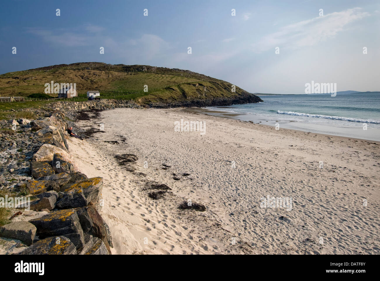 Northton Beach, Isle of Harris, Outer Hebrides, Scotland - Stock Image