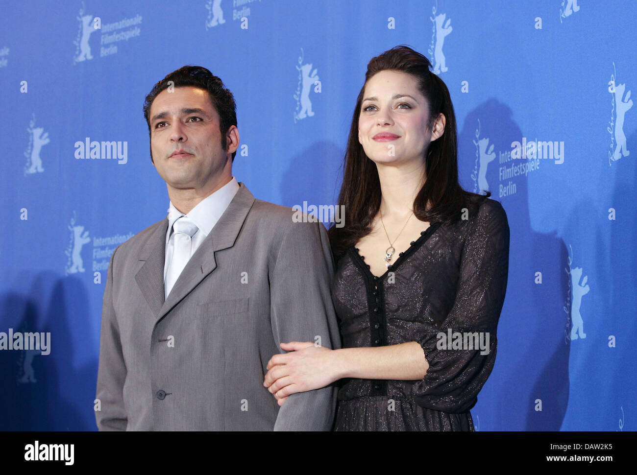 French Actors Jean Pierre Martins And Marion Cotillard Who