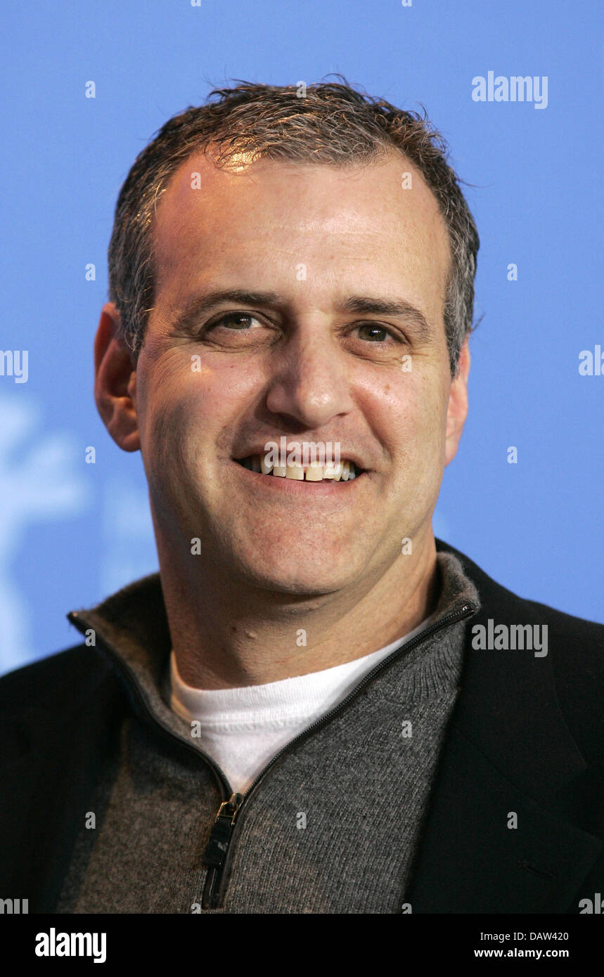 US American producer Bernie Goldmann is pictured during the premiere show for the film '300' at the 57th - Stock Image