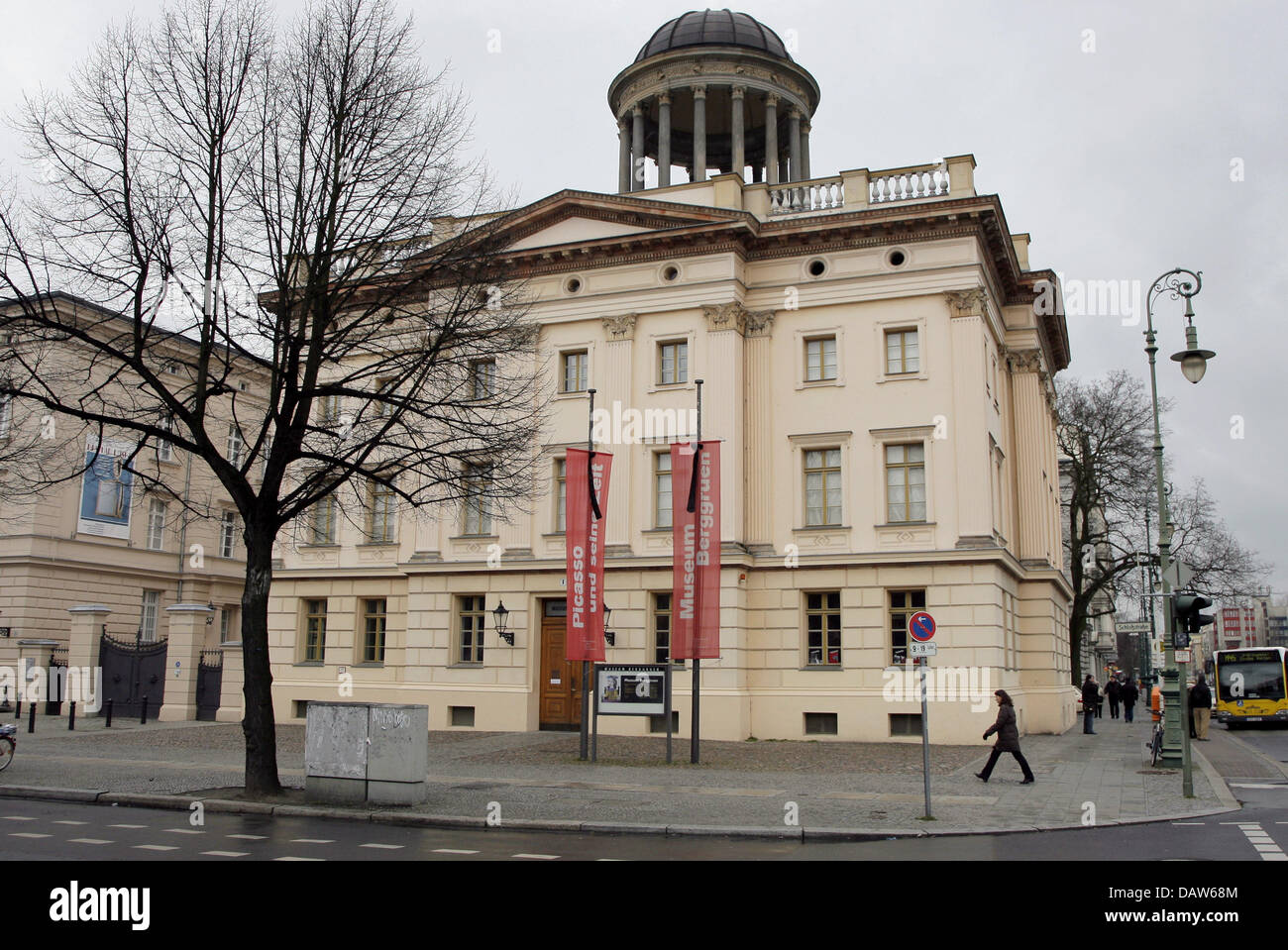 The picture shows the Berggruen museum in Berlin, Germany