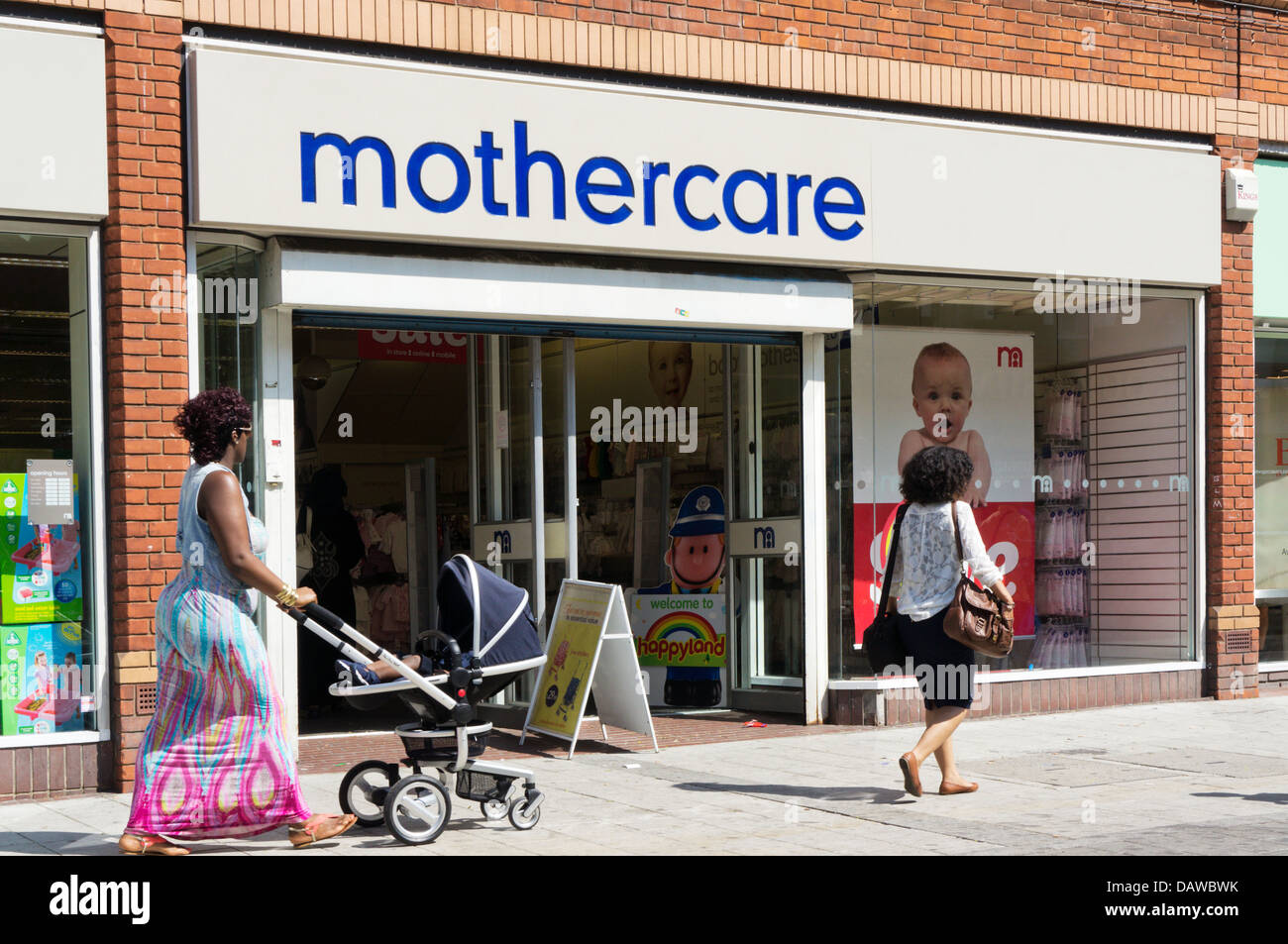 A branch of Mothercare - Stock Image