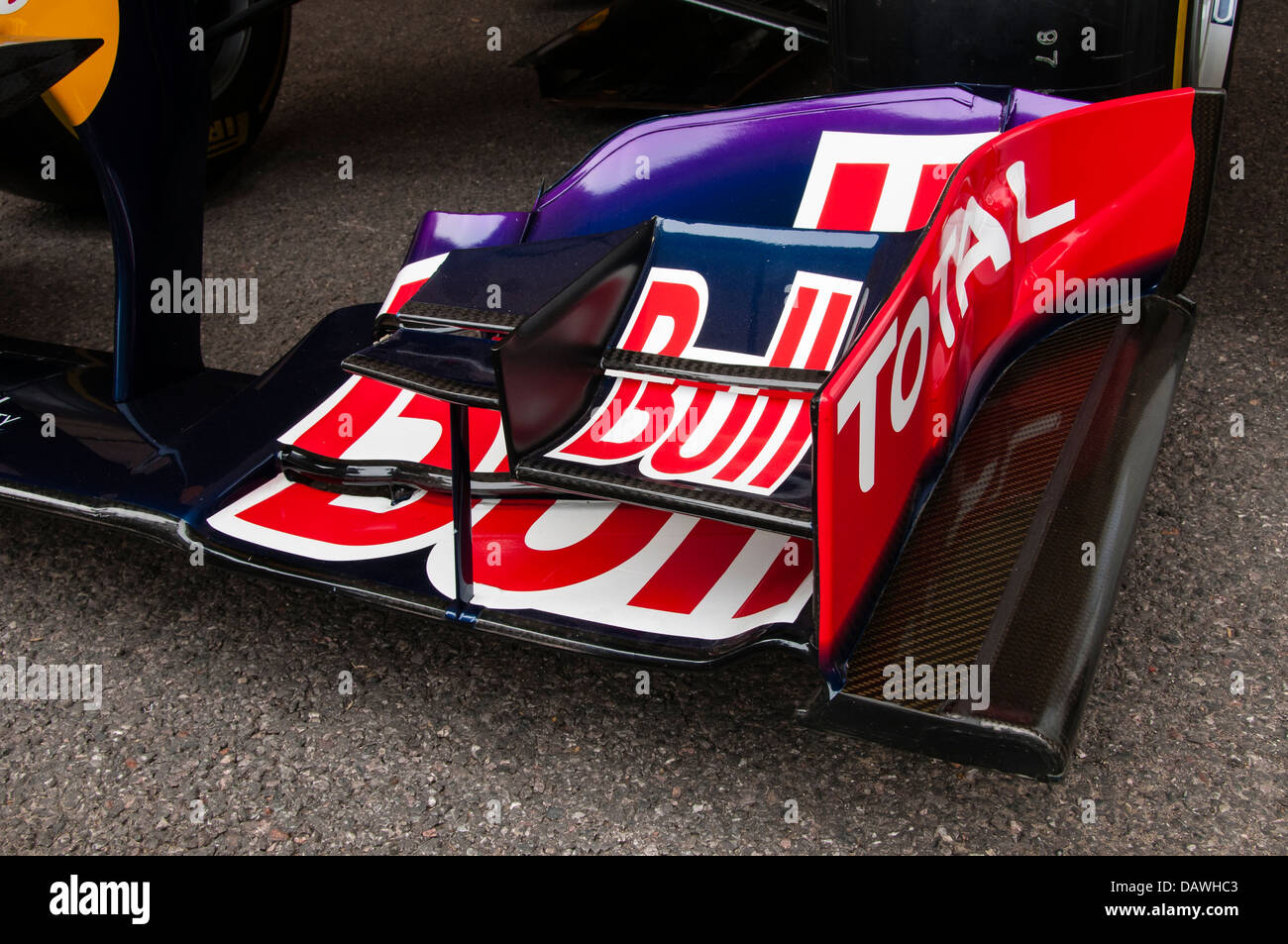 Red Bull RB9 Formula One Car - Stock Image