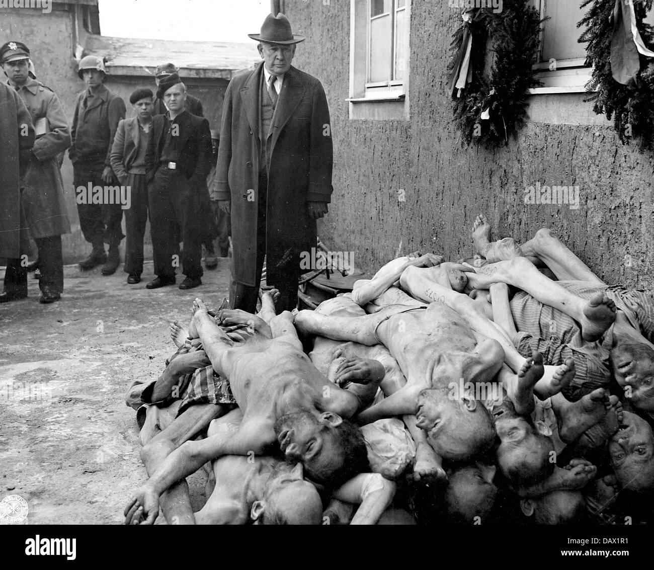 buchenwald concentration camp american senator alben