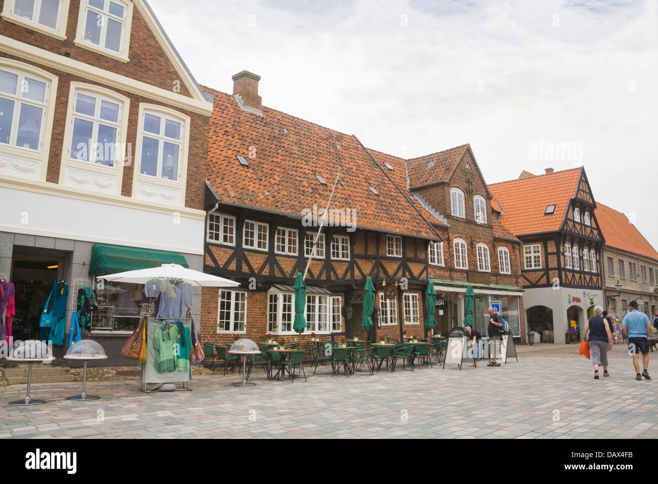 WEIS STUE Ribe one of Denmarks oldest and most beautiful inns Stock ...