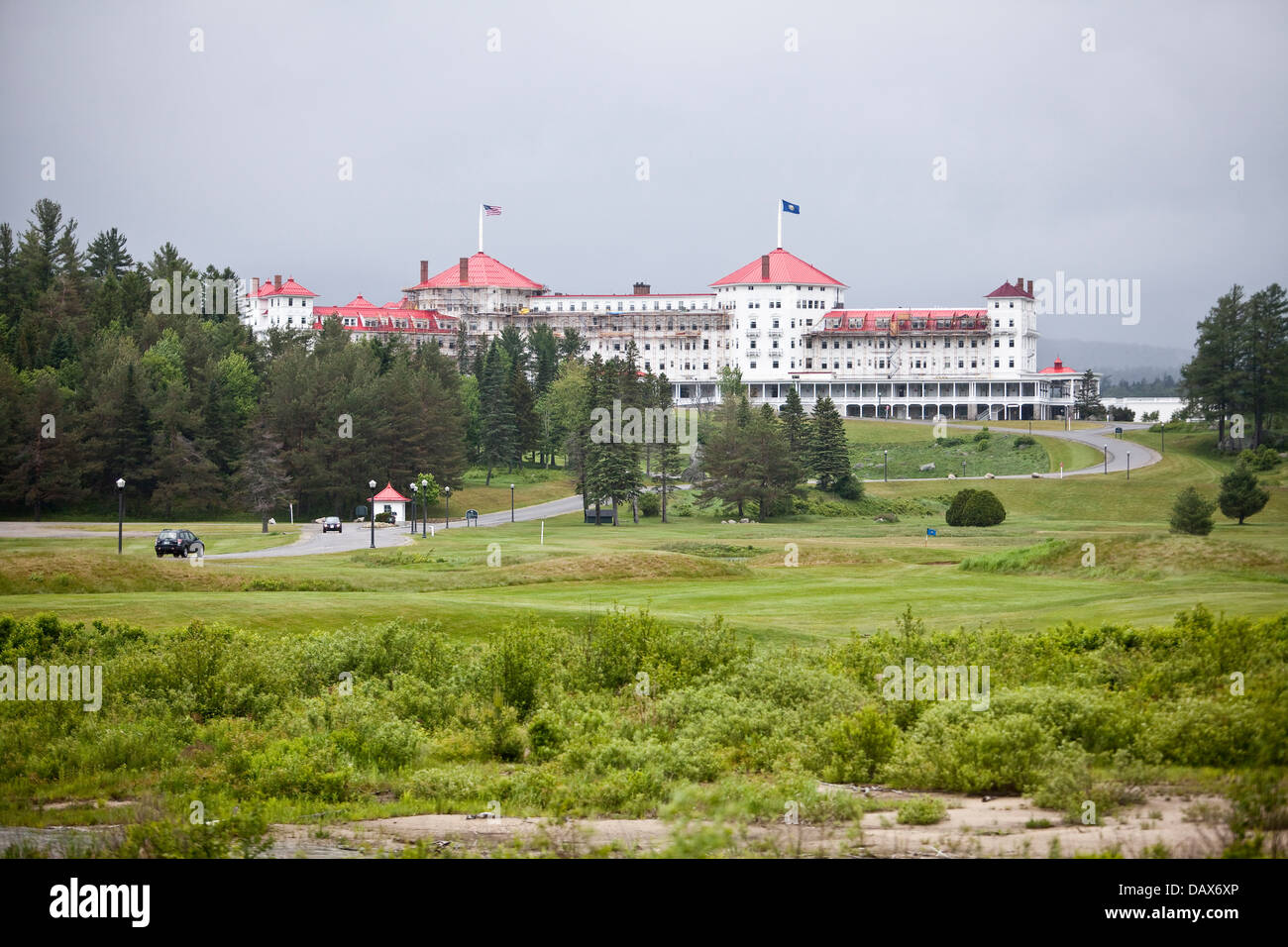 The Mount Washington Hotel is pictured in Carroll, New Hampshire Wednesday - Stock Image