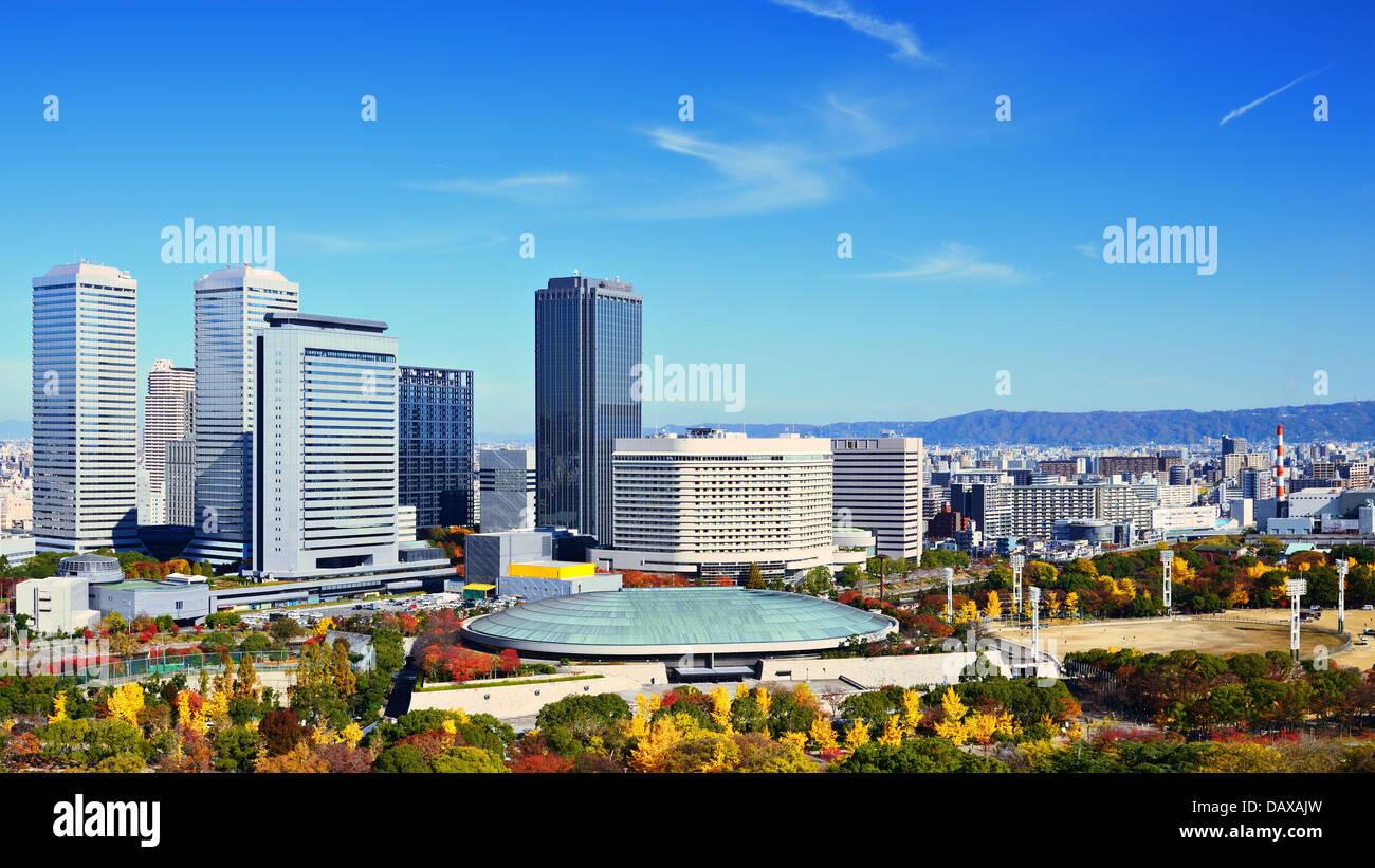 Osaka Business Park in Osaka, Japan. - Stock Image