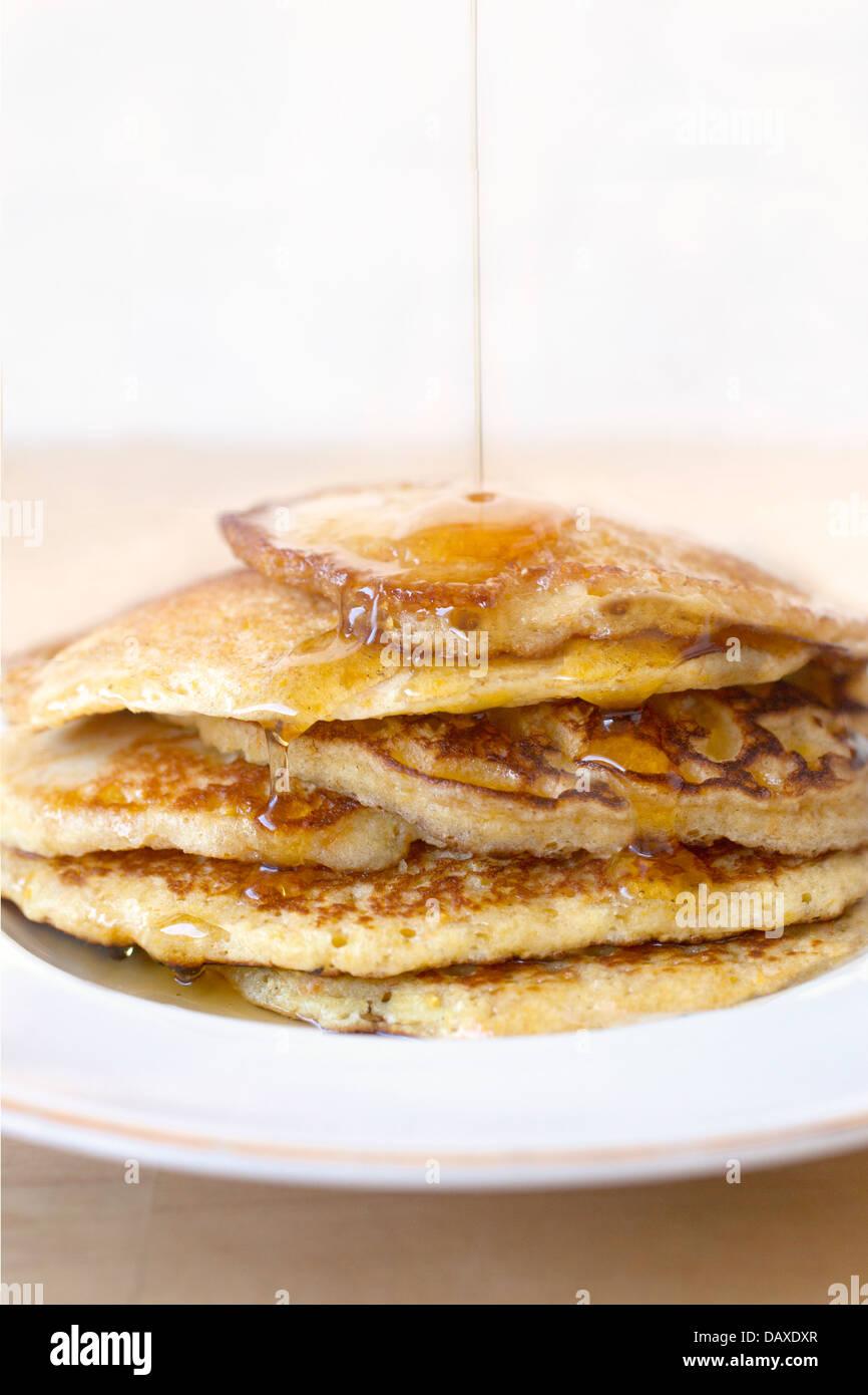 Stack of Pancakes - Stock Image