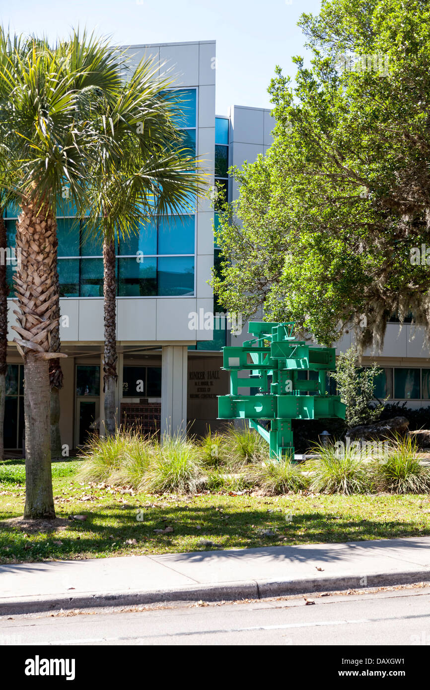 Rinker Hall, BCN School of Building Construction on University of Florida campus in Gainesville, Florida. LEED Gold - Stock Image