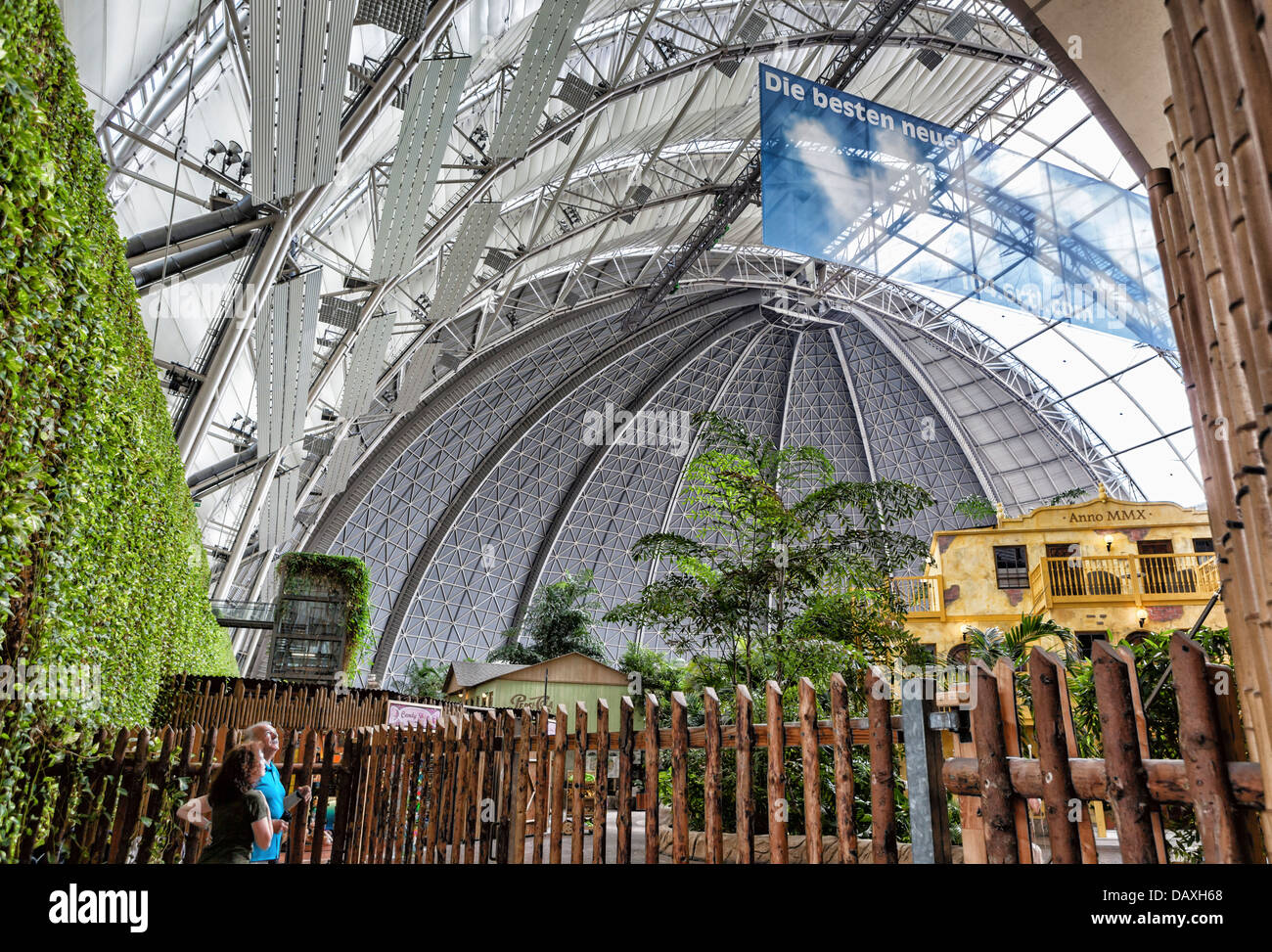Tropical Islands Resort: Interior View Of The Dome Of Tropical Islands Resort