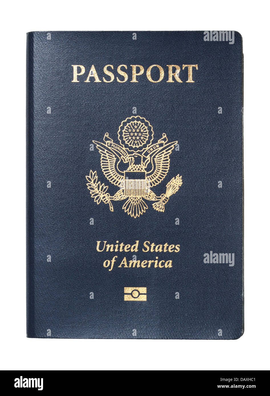 Passport of United States of America - Stock Image