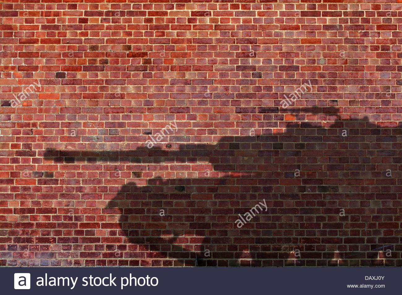 tank shadow - Stock Image