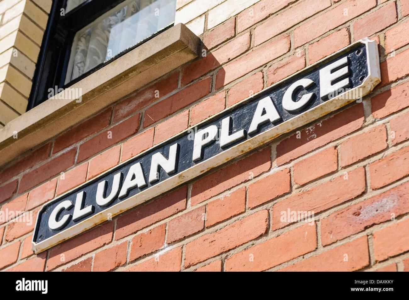 Cluan Place - Stock Image