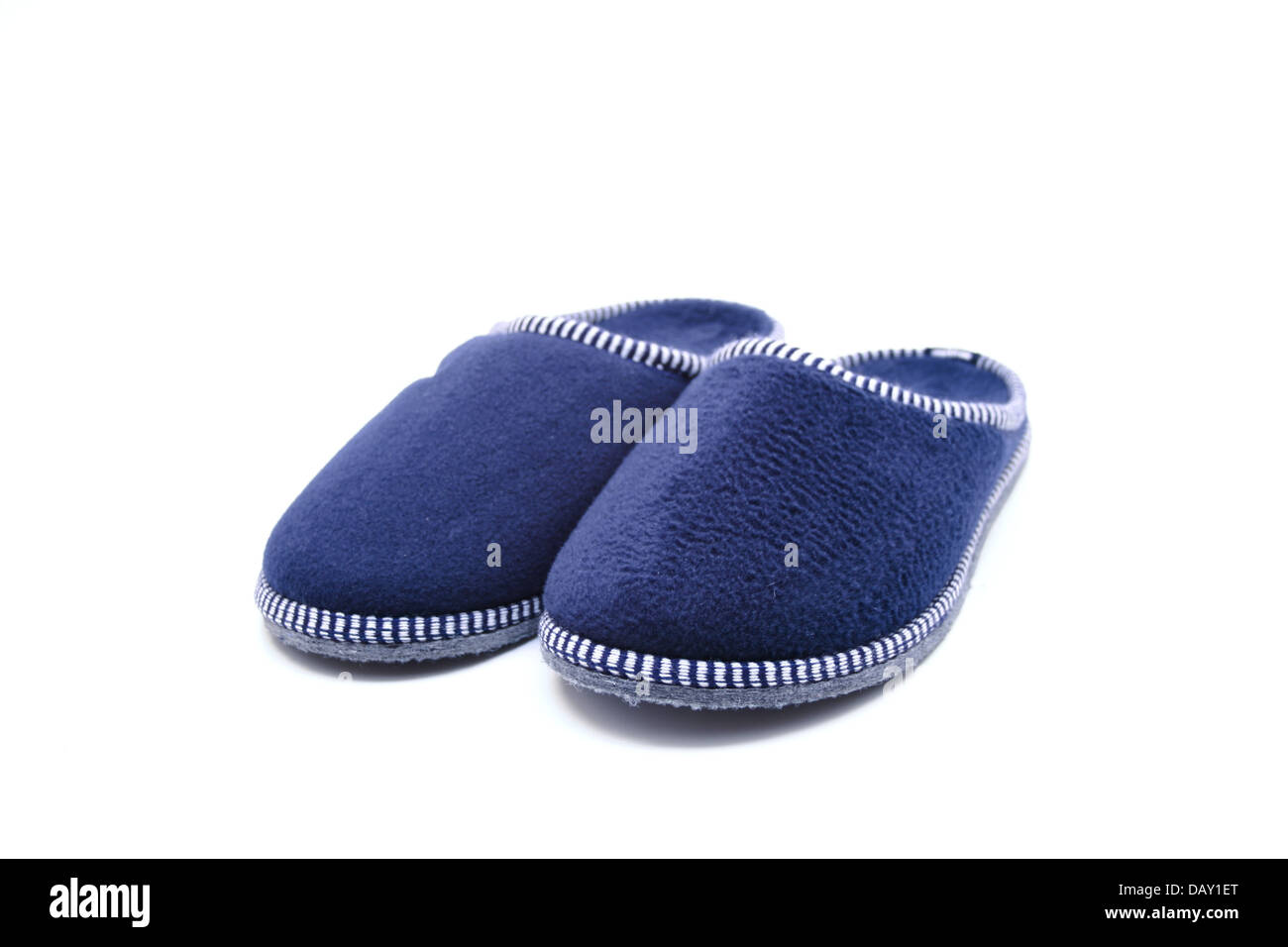 Blue house Shoes - Stock Image