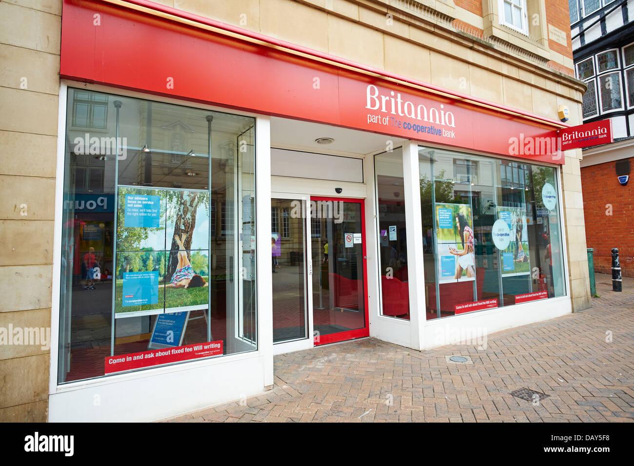 Britannia Building Society Wells Somerset