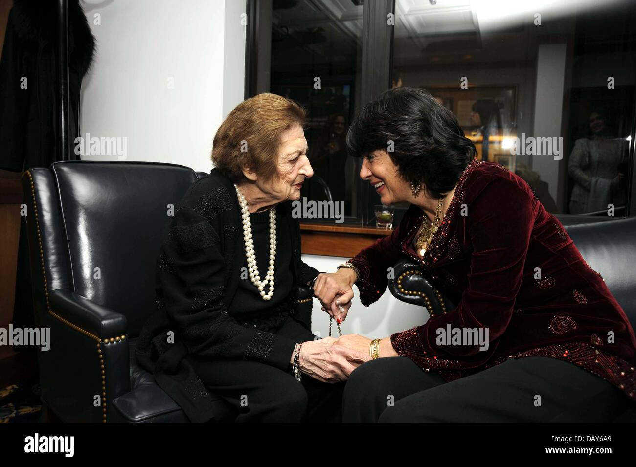 July 20, 2013 - Washington, District of Columbia, U.S. - Longtime White House journalist Helen Thomas, a pioneer - Stock Image