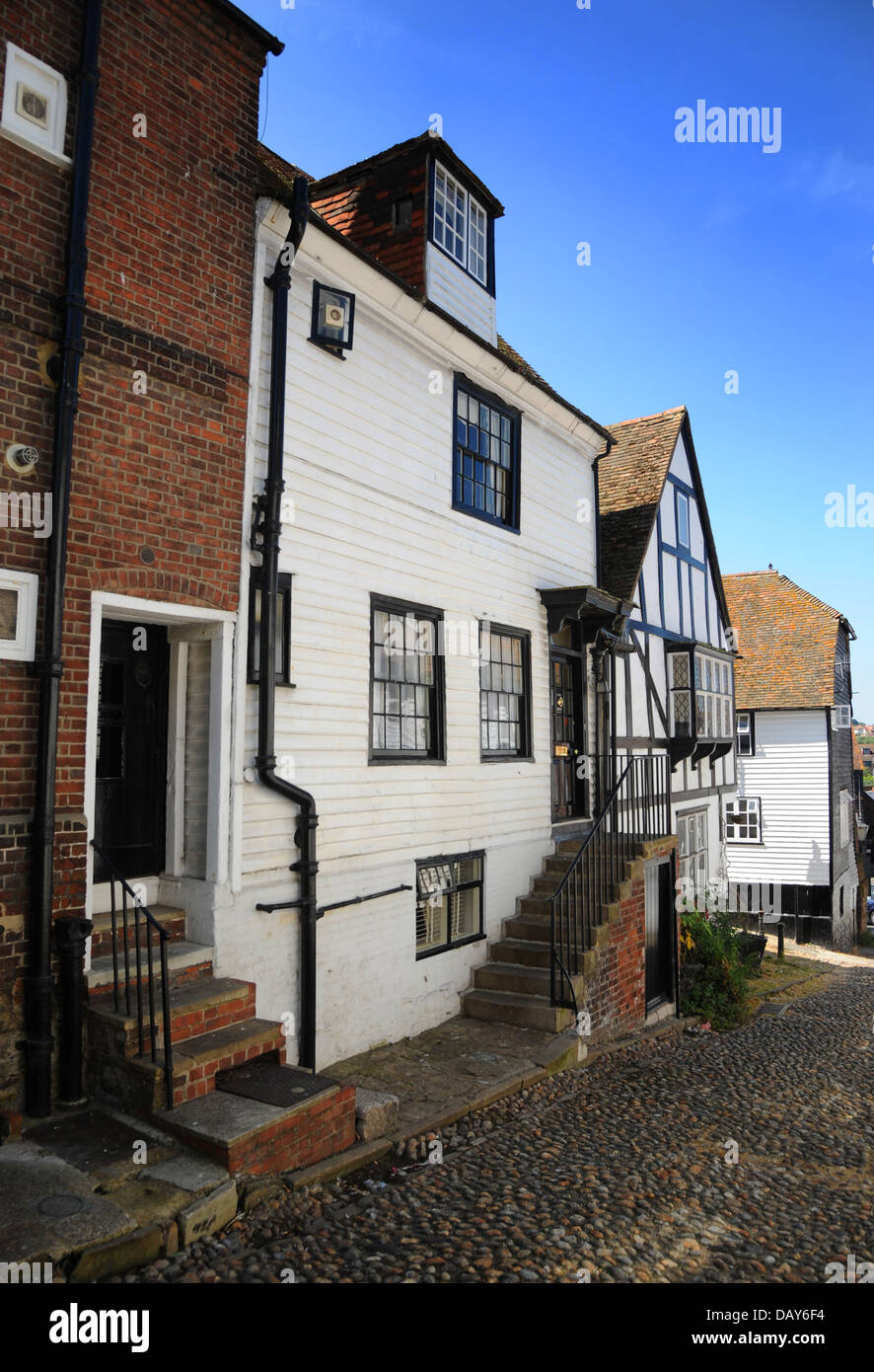 The stunning architecture and beauty of old England. Rye, Sussex. - Stock Image