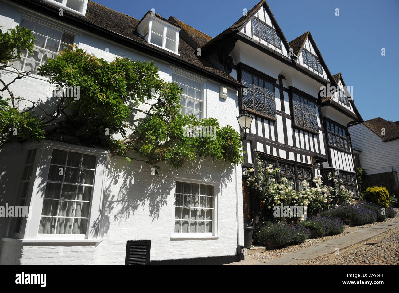 The stunning architecture and beauty of old England. - Stock Image