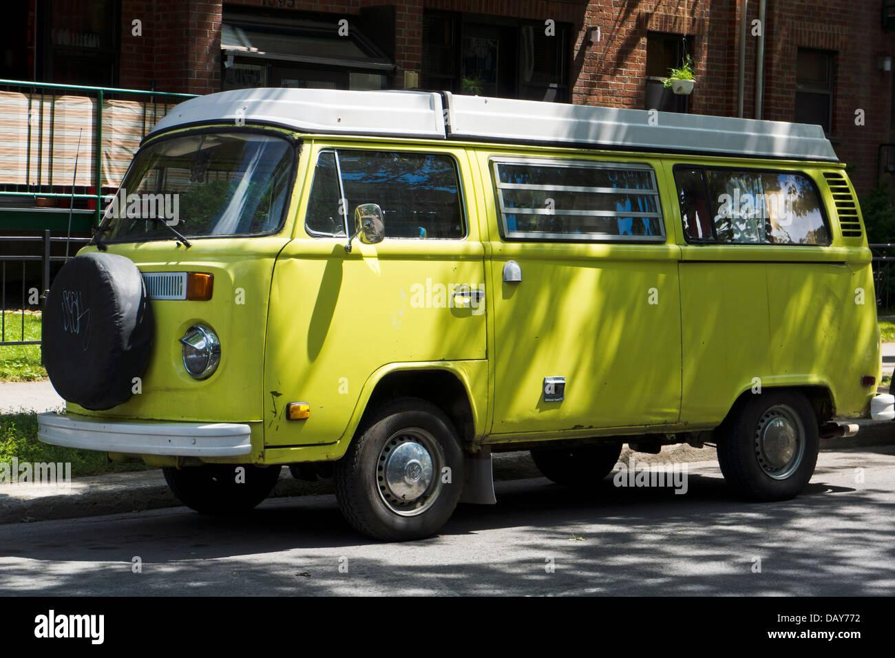 Volkswagen campervan - Stock Image