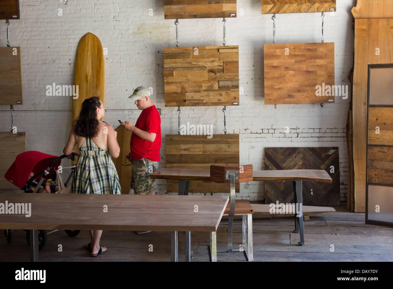 Mark Jupiter Custom Furniture In DUMBO Brooklyn