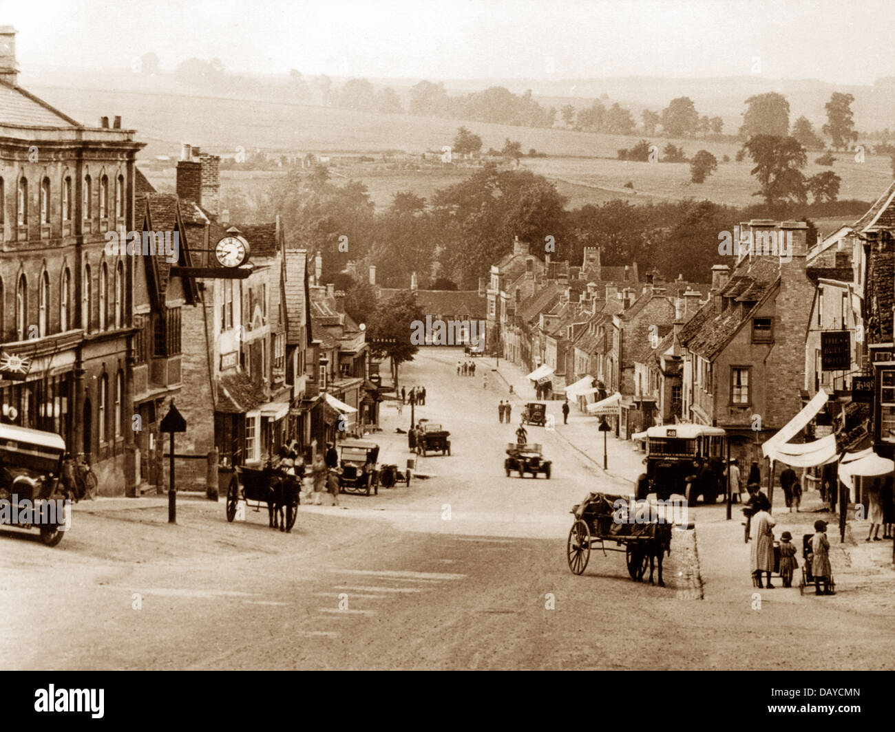 Burford probably 1920s Stock Photo