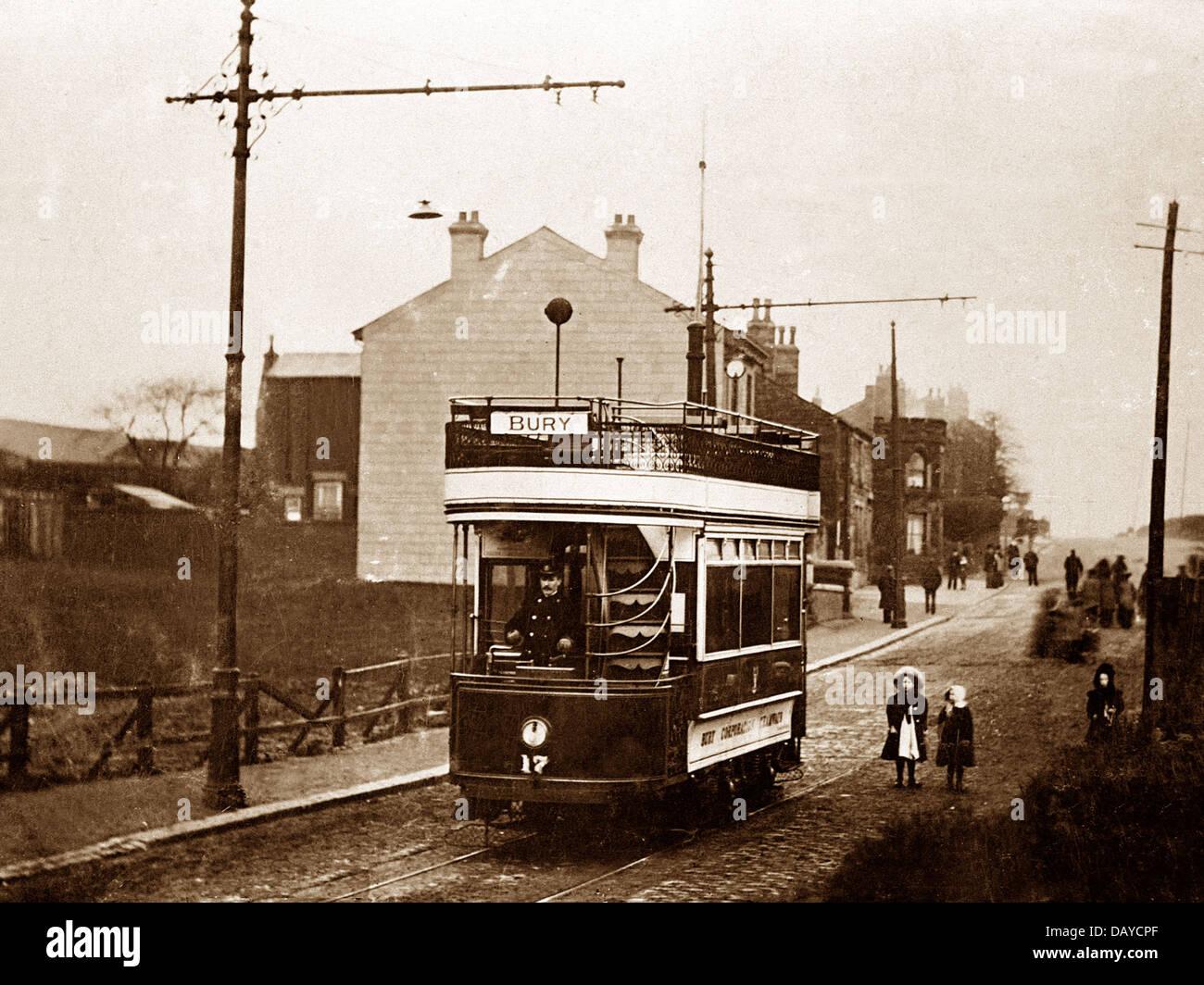 Bury Jericho early 1900s - Stock Image