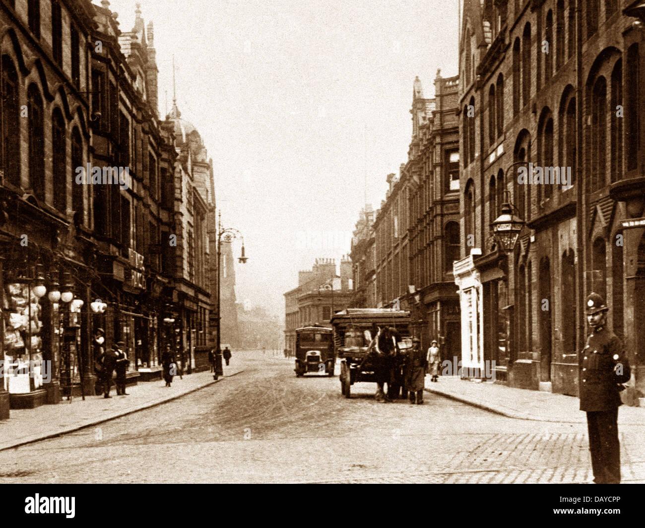 Bury Silver Street probably 1920s - Stock Image