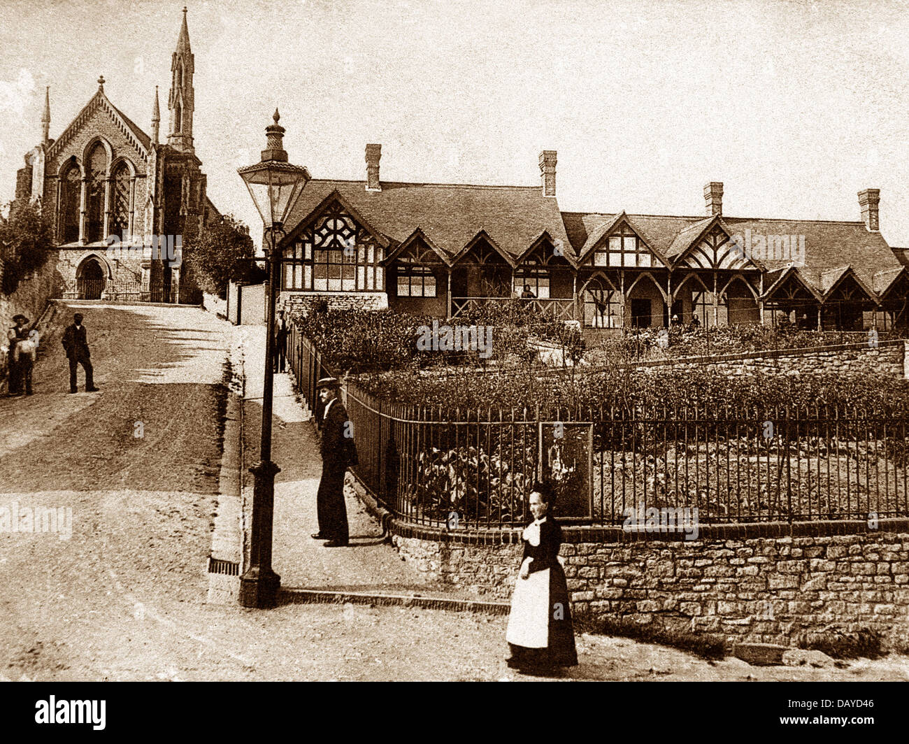 Wotton-under-Edge Tabernacle early 1900s - Stock Image