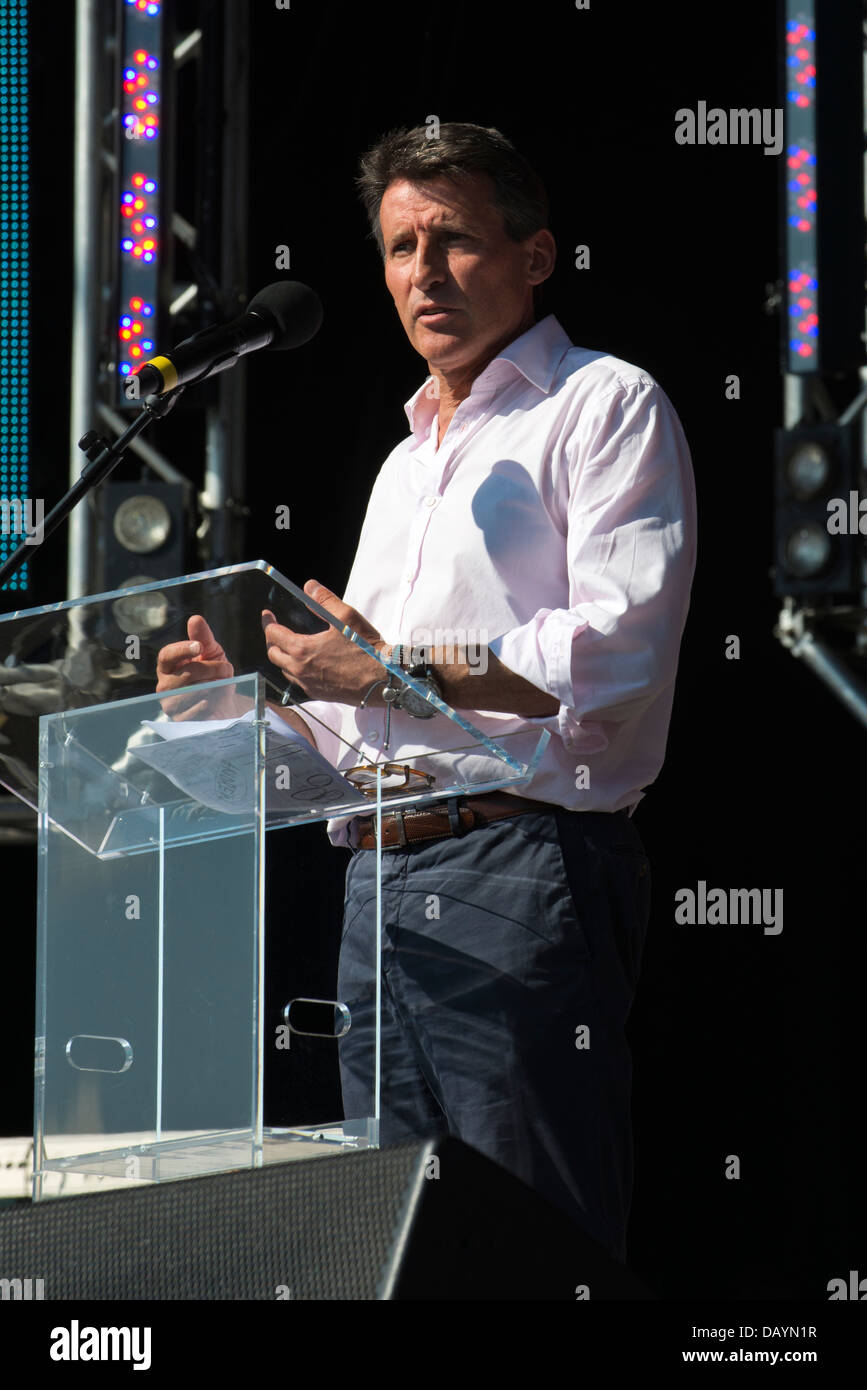 Lord Sebastian Coe at Go Local - Biggest ever celebration of volunteering and first Olympic and Paralympic legacy - Stock Image
