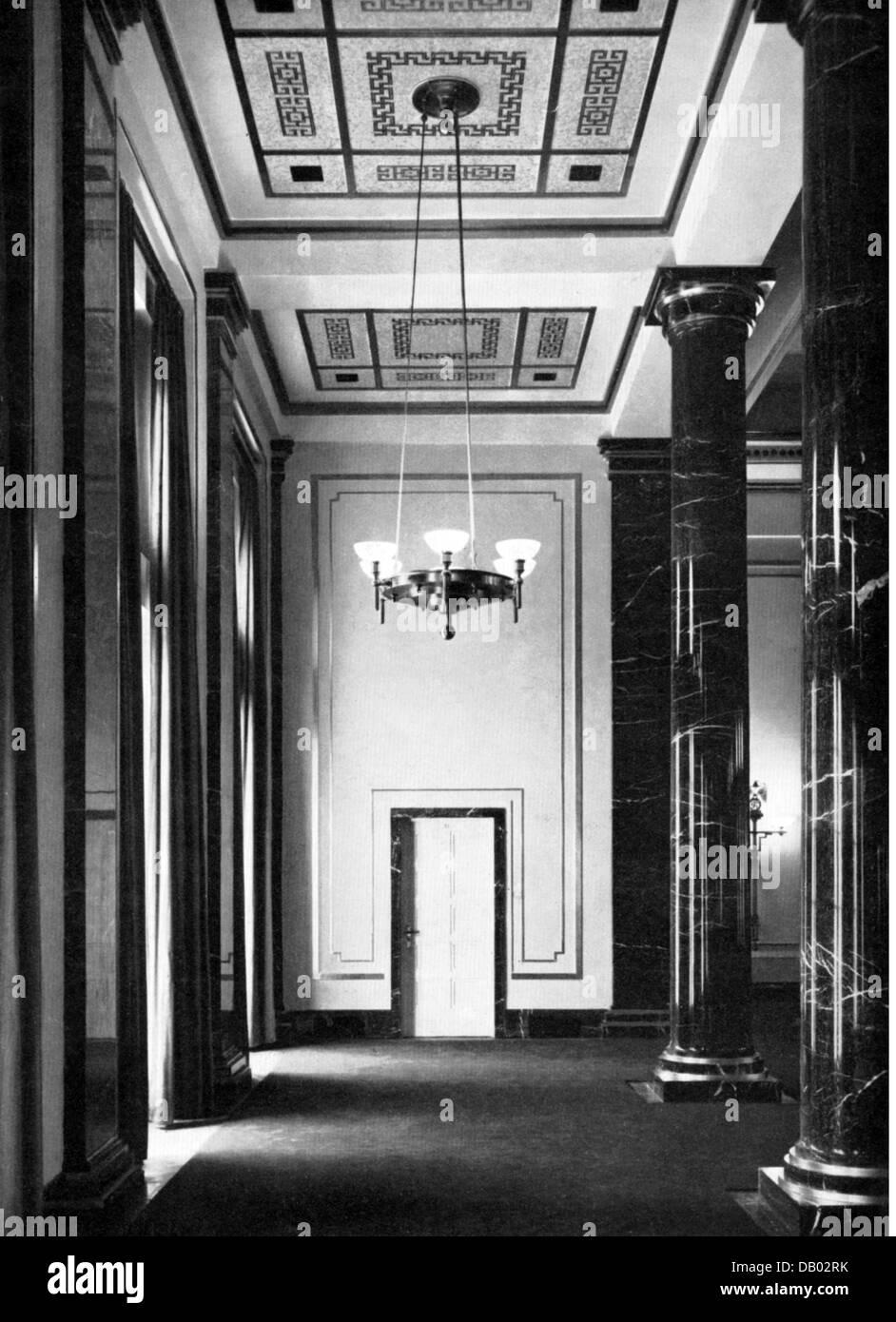 National Socialism Architecture Neue Reichskanzlei New Reich Stock Photo 58394551 Alamy