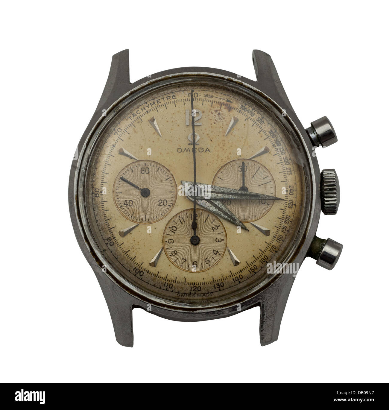 Old Omega Watch - Stock Image