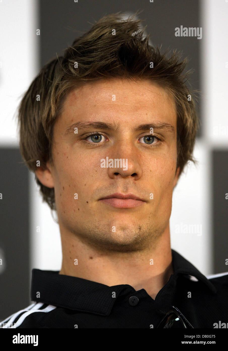 Norwegian Andreas Thorkildsen During Javelin Stock Photos ... Andreas Thorkildsen