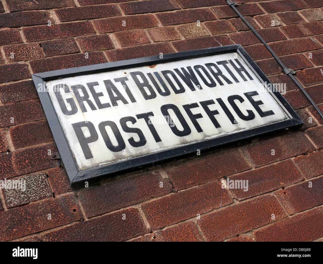 The old Post Office at Great Budworth Northwich Cheshire - Stock Image