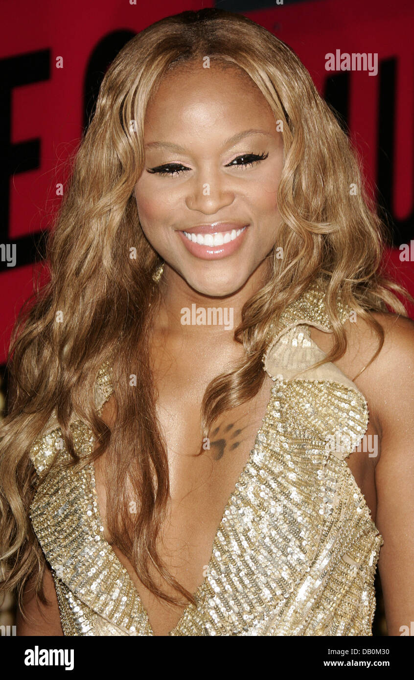 Eve Smiles At The 2007 MTV Video Music Awards Pressroom Held Palms Hotel And Casino Las Vegas USA 9 September Photo Hubert Boesl