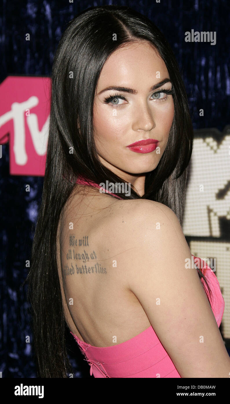 The Picture Shows Model And Actress Megan Fox At 2007 MTV Video Music Awards Held Palms Hotel Casino Las Vegas USA 9 September