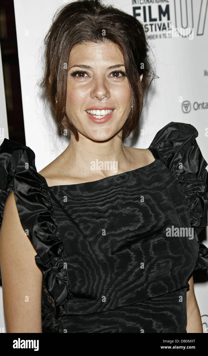 Actress Marisa Tomei arrives for the premiere of the film 'Before The Devil Knows You're Dead' at the - Stock Image
