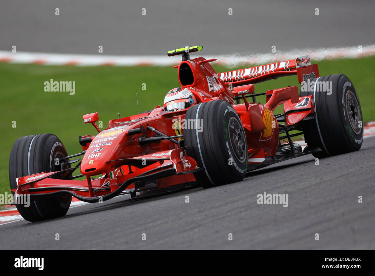 Circuit Trace Stock Photos Images Alamy Integrated Circuitvintage Finnish Formula One Pilot Kimi Raikkonen Of Ferrari Steers His Car During The Qualifying Session At