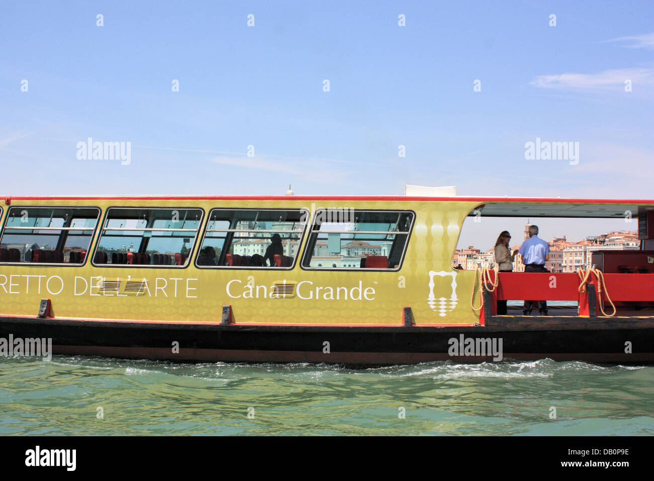 Vaporetto dell'Arte - Sightseeing boat - Stock Image